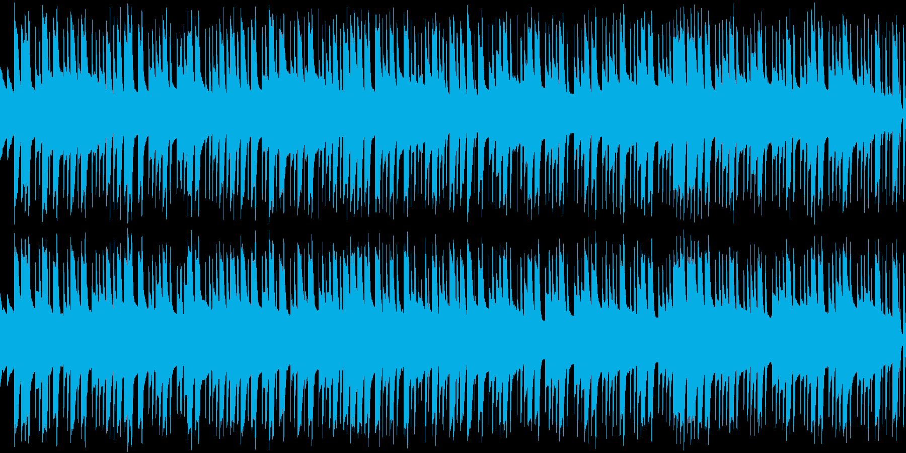 シーン・ロボット情熱・ループシンセの再生済みの波形