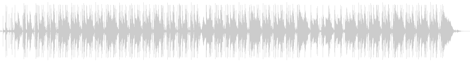 [魅惑]ChillなHipHopの未再生の波形