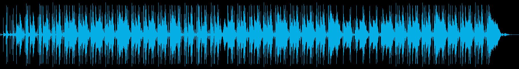 [魅惑]ChillなHipHopの再生済みの波形