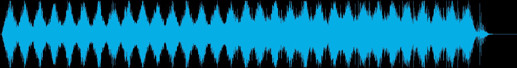 ホラー サスペンス 異次元 アンビエントの再生済みの波形