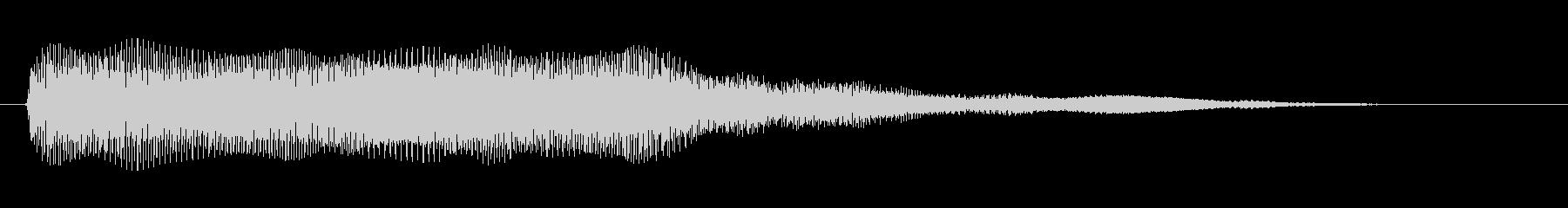 素材 シンセトレブルベース01の未再生の波形