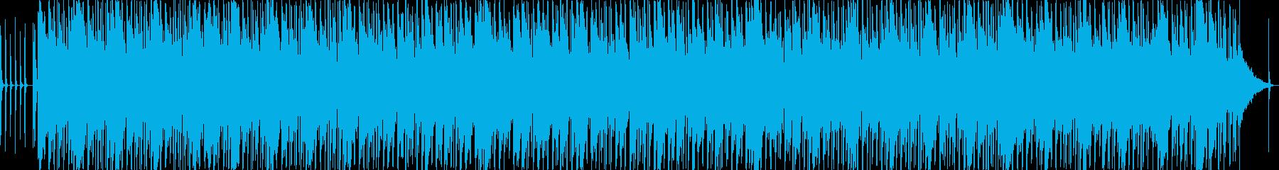 怪しい雰囲気の漂う曲ですの再生済みの波形
