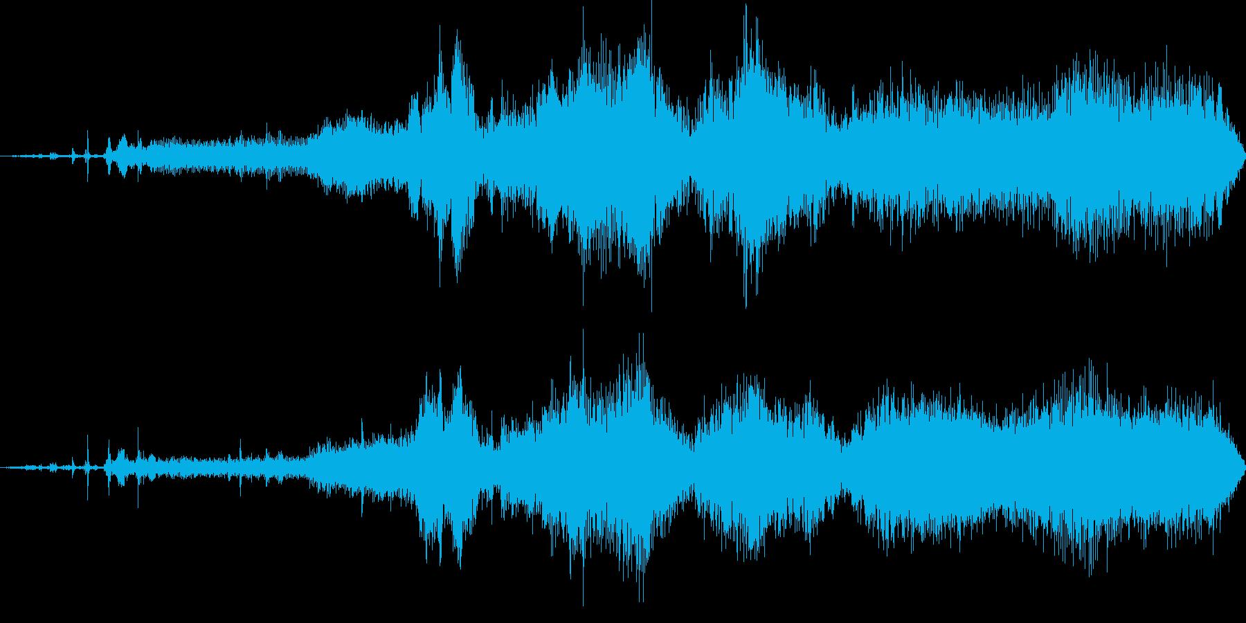 バス、ミニ、スタート、ライド; D...の再生済みの波形