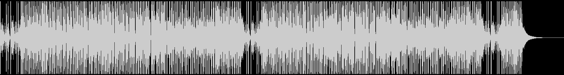 アップテンポなJAZZ風BGM_カフェの未再生の波形
