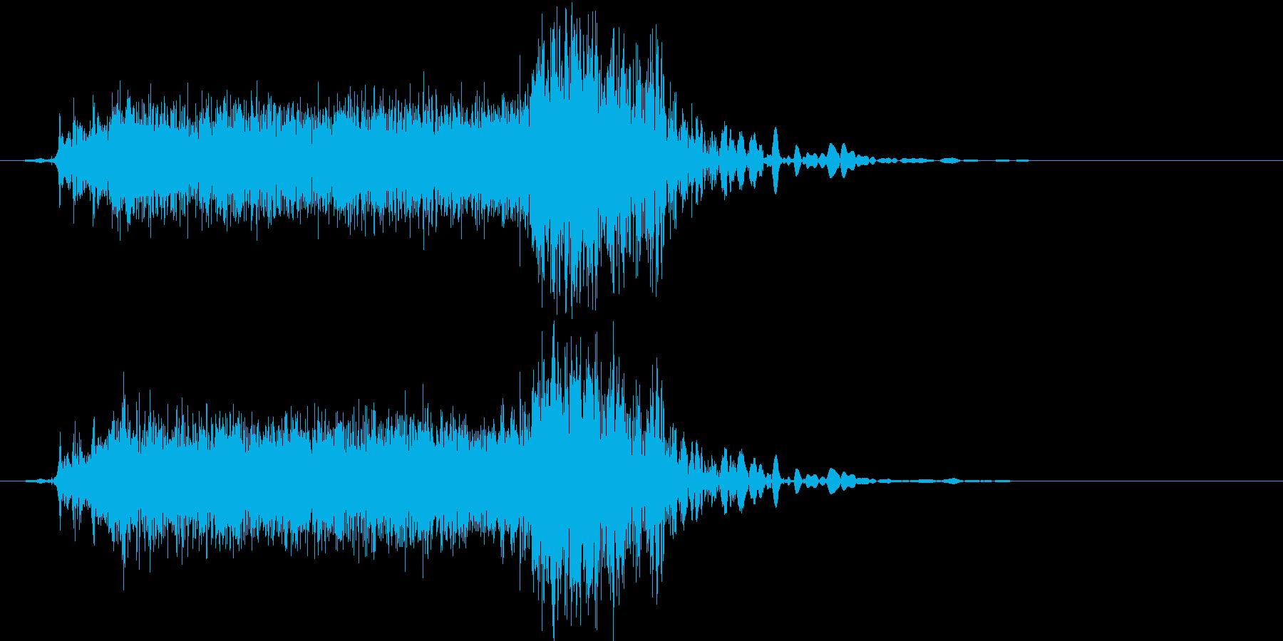 【機械/ロボット系012】ウィーンガチャの再生済みの波形