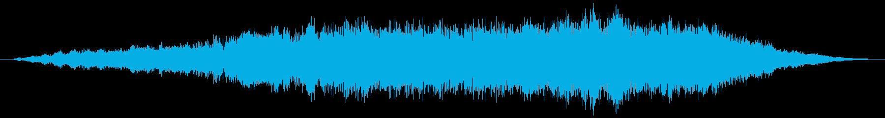 素材 大気ピール06の再生済みの波形