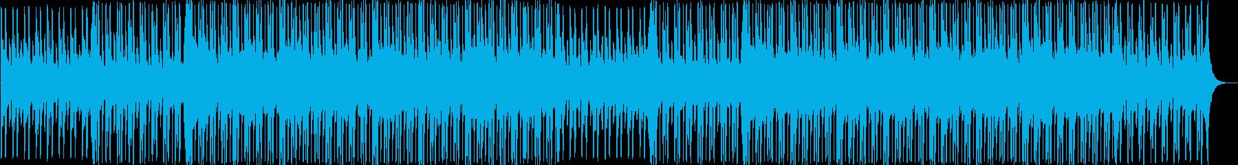 ニュース・報道 知的でクールなBGMの再生済みの波形