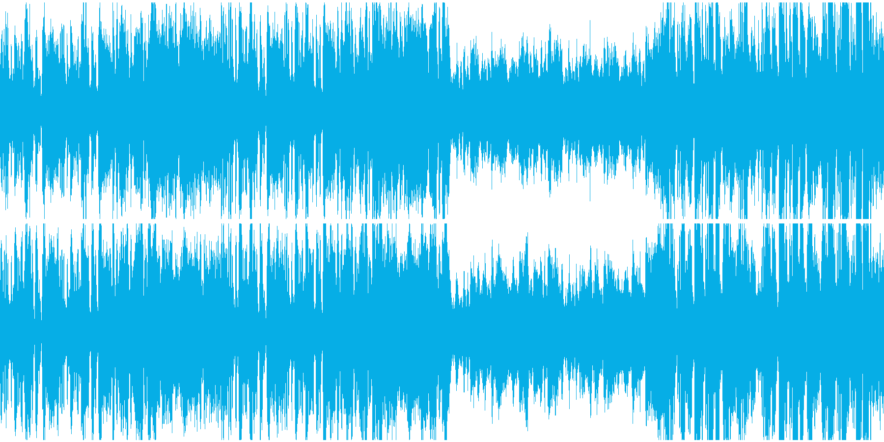 王宮の優雅なバロック(ループ)の再生済みの波形