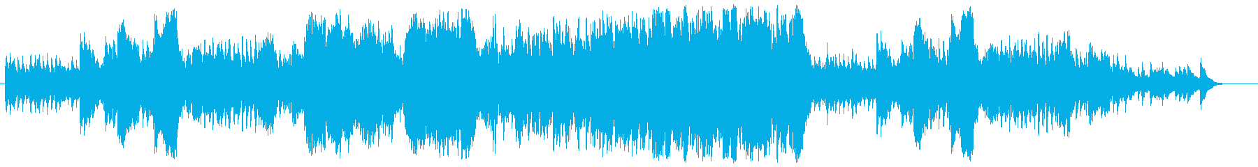 ハープとマリンバの明るく爽やかなBGMの再生済みの波形