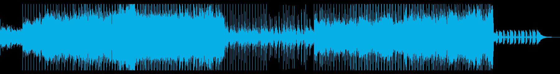 爽やかでどこか切ないポップソングの再生済みの波形