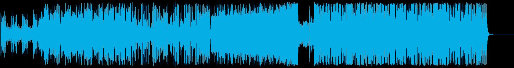 爽やかおしゃれEDM,フューチャーベースの再生済みの波形