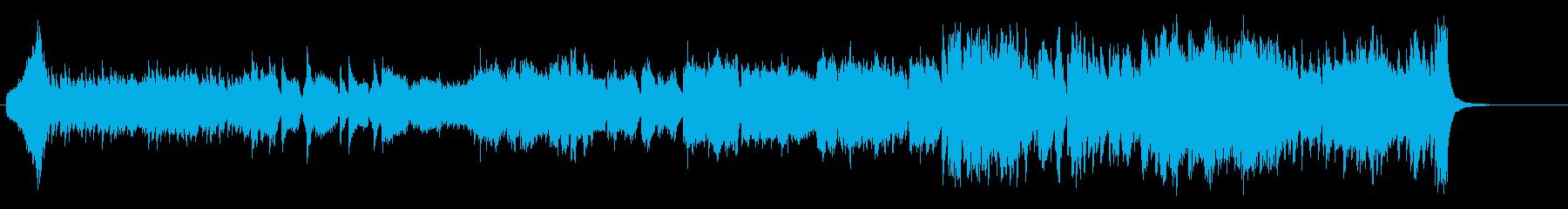 オーケストラ風 感動的 ドラマティックの再生済みの波形