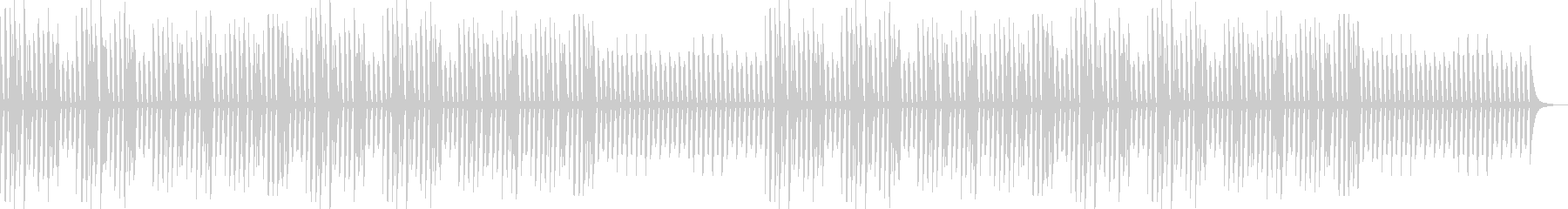 YouTube・日常・ほのぼのピアノソロの未再生の波形