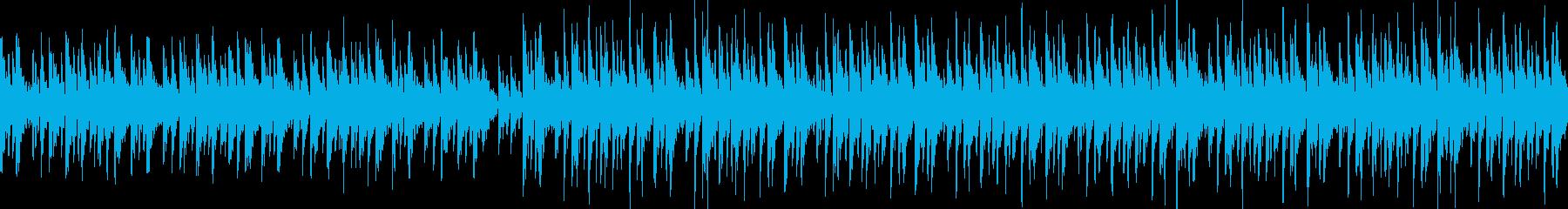 【ループ】メジャー調ハウスの再生済みの波形