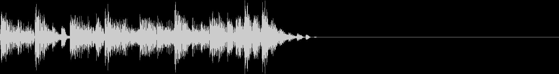 ダークなサイバー系ジングルの未再生の波形
