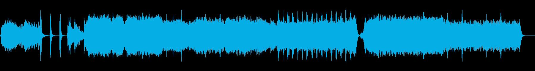 大河ドラマ風壮大な和風エピック太鼓なしの再生済みの波形