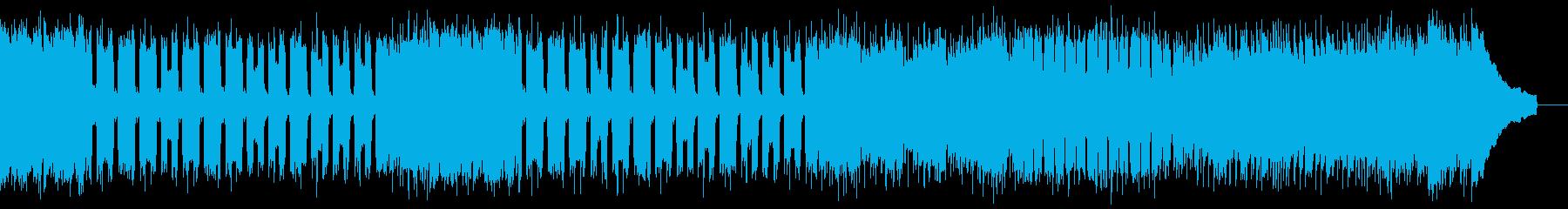 カントリー風ロックギター01Hの再生済みの波形