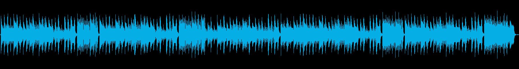 ほんわか日常ほのぼのマリンバBGMの再生済みの波形
