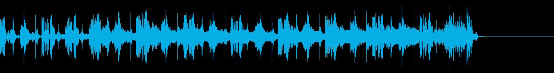 ニューヨークなHIPHOP(15秒)の再生済みの波形