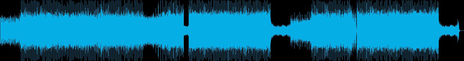 疾走感のある切なめギターロックの再生済みの波形