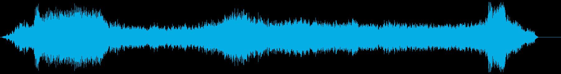 電磁、複数、上下の再生済みの波形