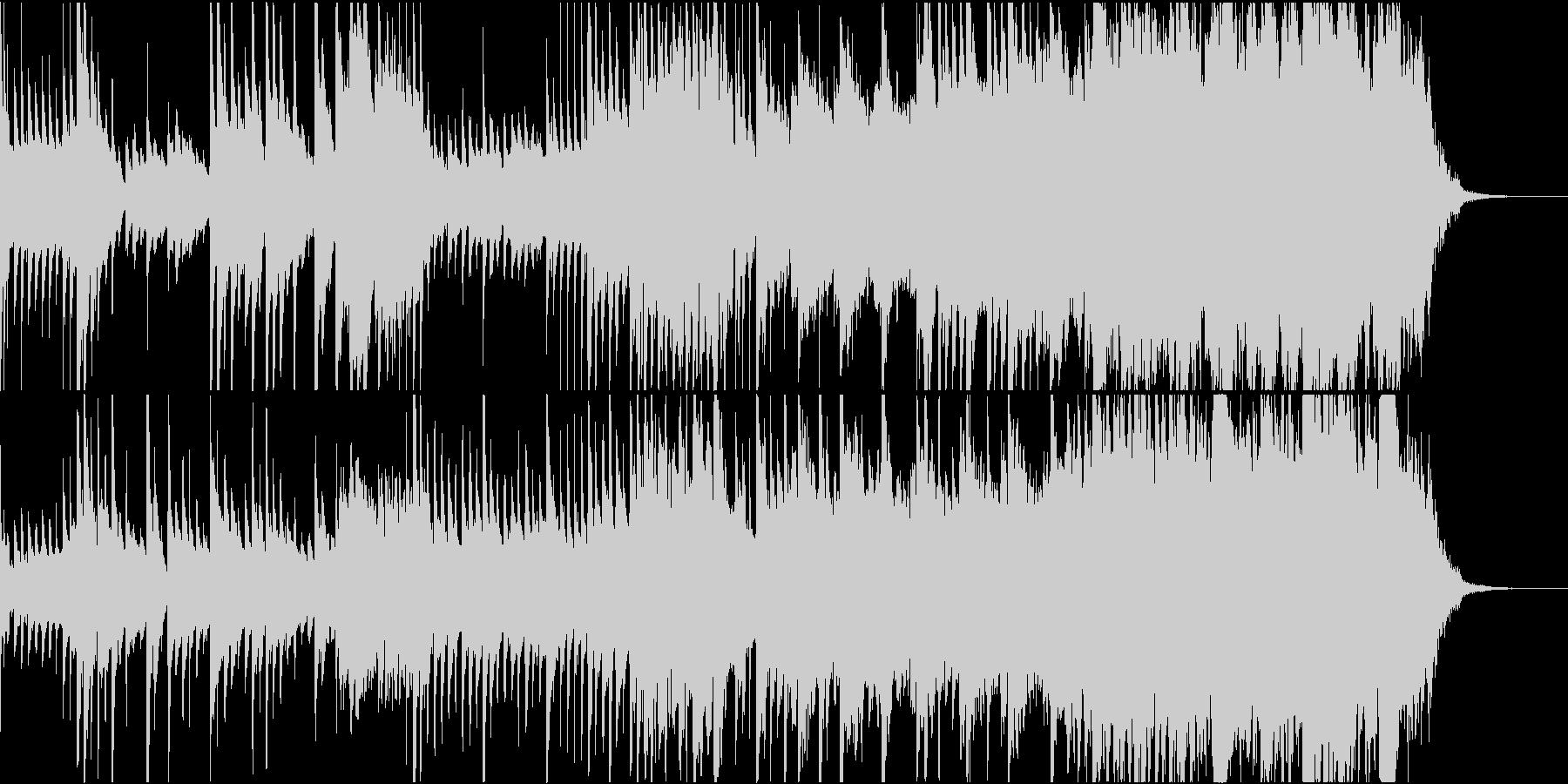 琴、尺八が印象的、神秘的な和風バラードの未再生の波形