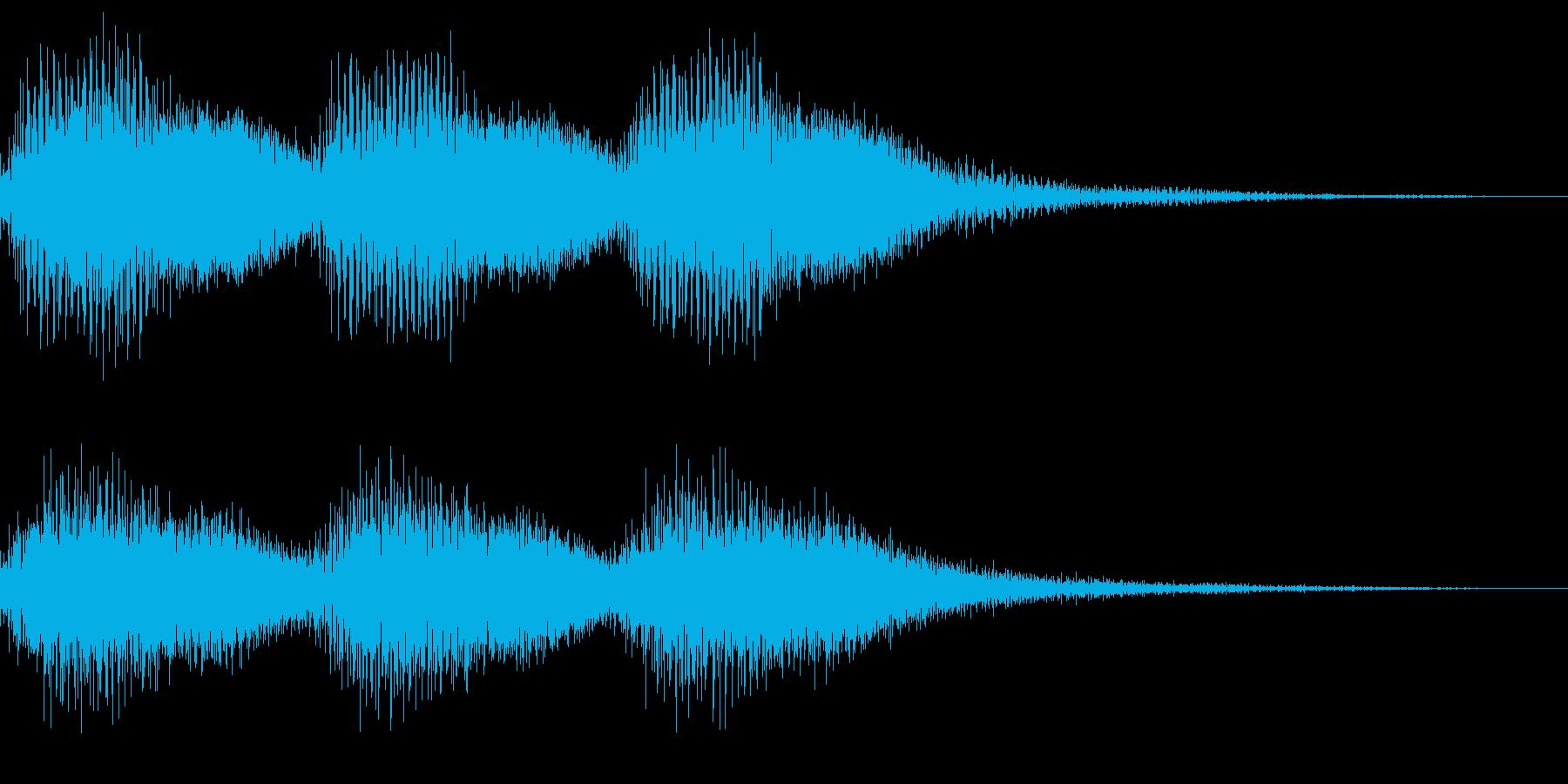 注意、警告音、警報の効果音です!17の再生済みの波形
