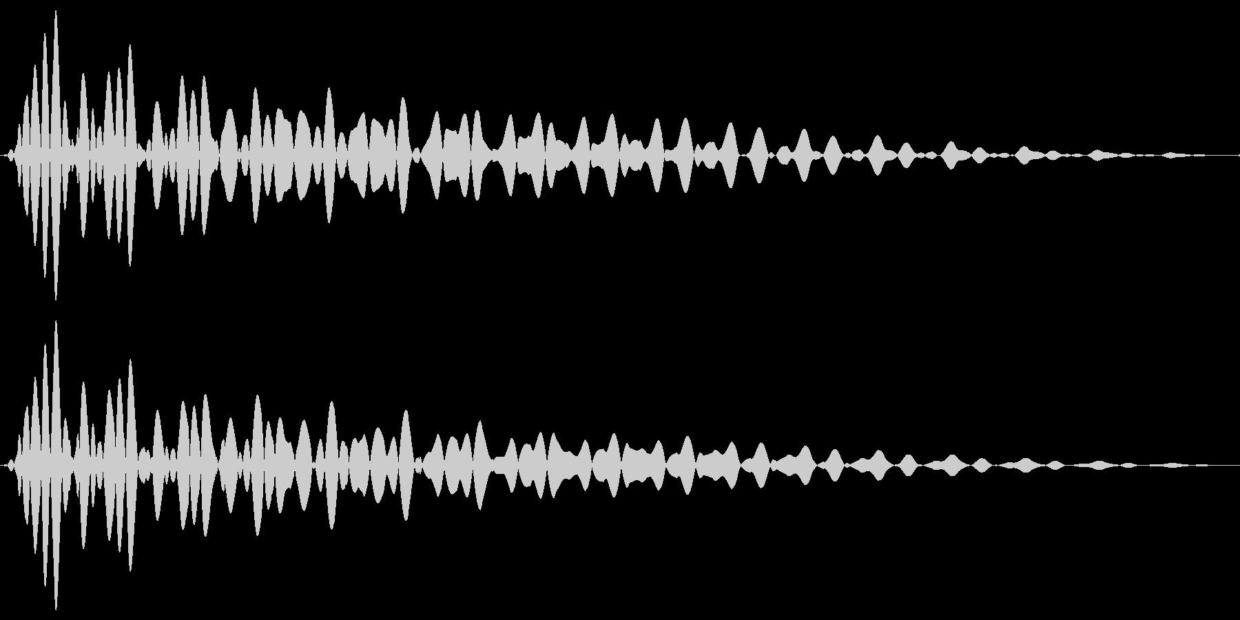 PureTouch アプリ用タッチ音62の未再生の波形