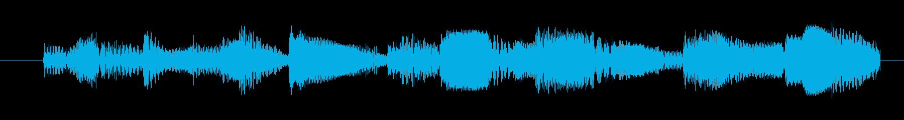 素材 合成ヘクティックベル01の再生済みの波形