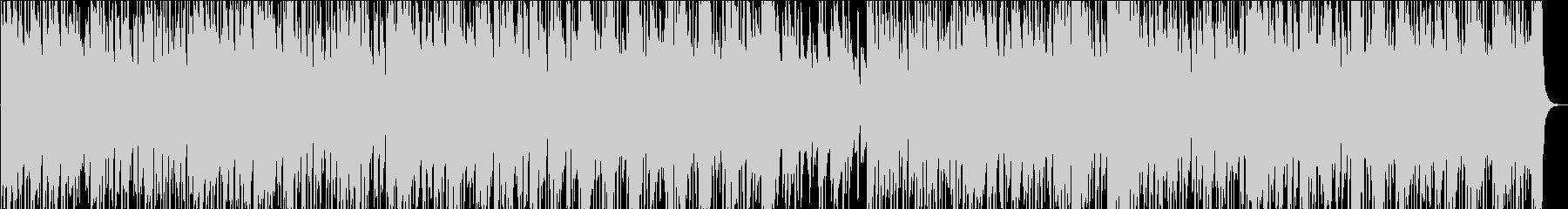 滑らかでアルトサックスのメロディー...の未再生の波形