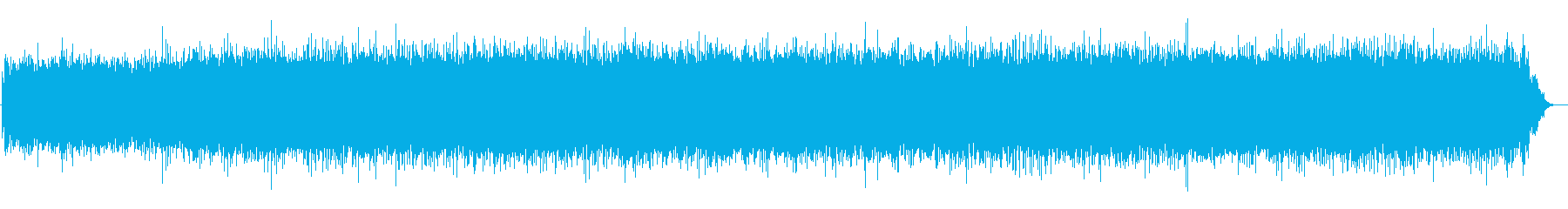 フードプロセッサー(オン、実行、オフ)の再生済みの波形