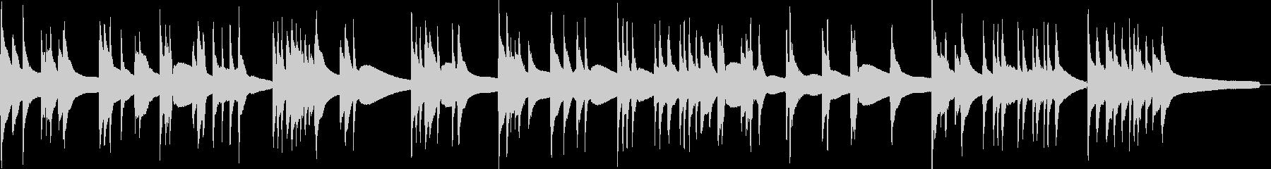 渋いアコースティックベースソロ曲2の未再生の波形