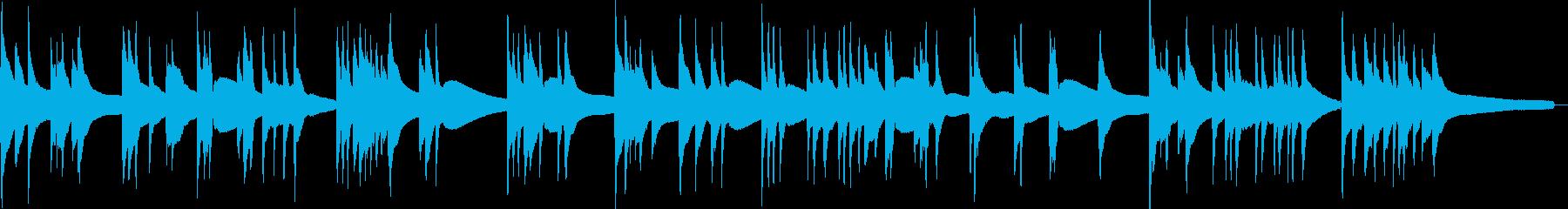 渋いアコースティックベースソロ曲2の再生済みの波形