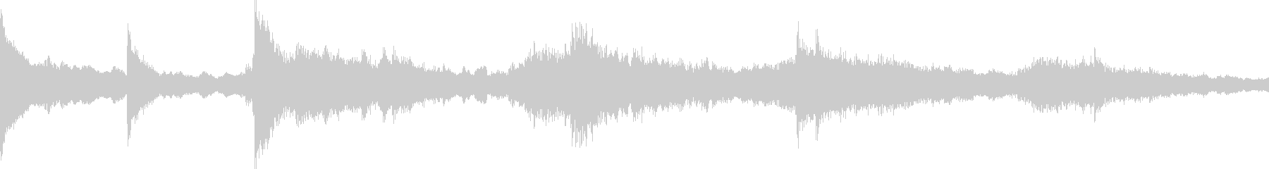 クールで切ないピアノソロの未再生の波形