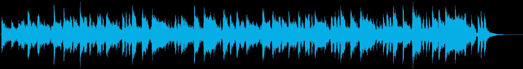 さくらんぼをテーマにした楽曲の再生済みの波形