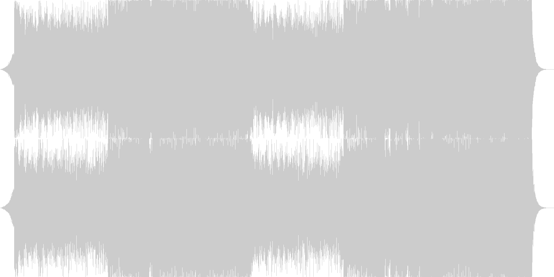 Western music K-Pop Cool house EDM's unreproduced waveform
