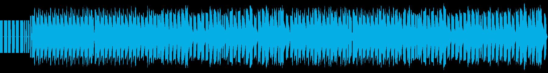 FC風音源による「ジングルベル」ですの再生済みの波形