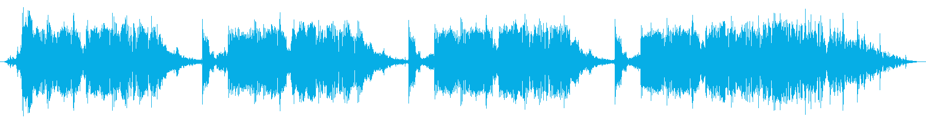 アラームベッドの再生済みの波形