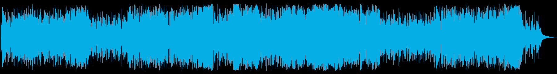爽快・アクション系フィールド曲(ループ)の再生済みの波形
