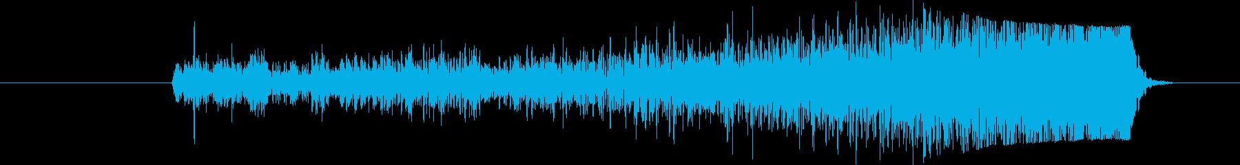 ヒューシュカットファーストリバースガラスの再生済みの波形