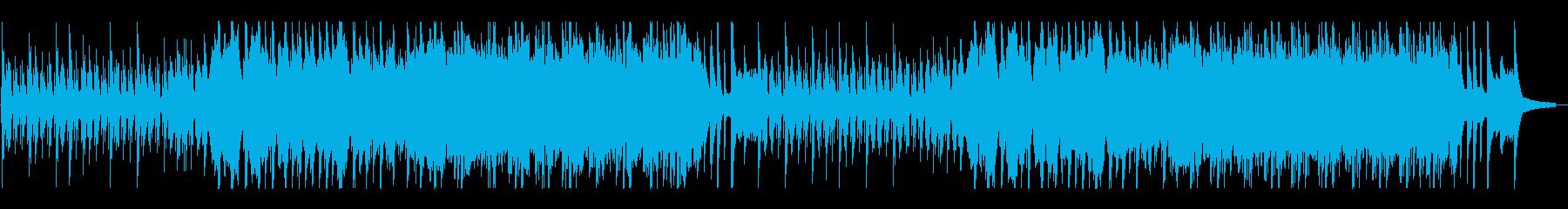 美しく優しいピアノ&感動的なストリングスの再生済みの波形