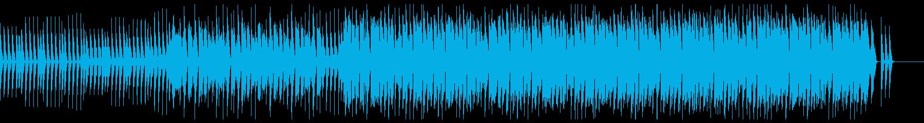 モダンで先鋭的オシャレなハウス・ミニマルの再生済みの波形