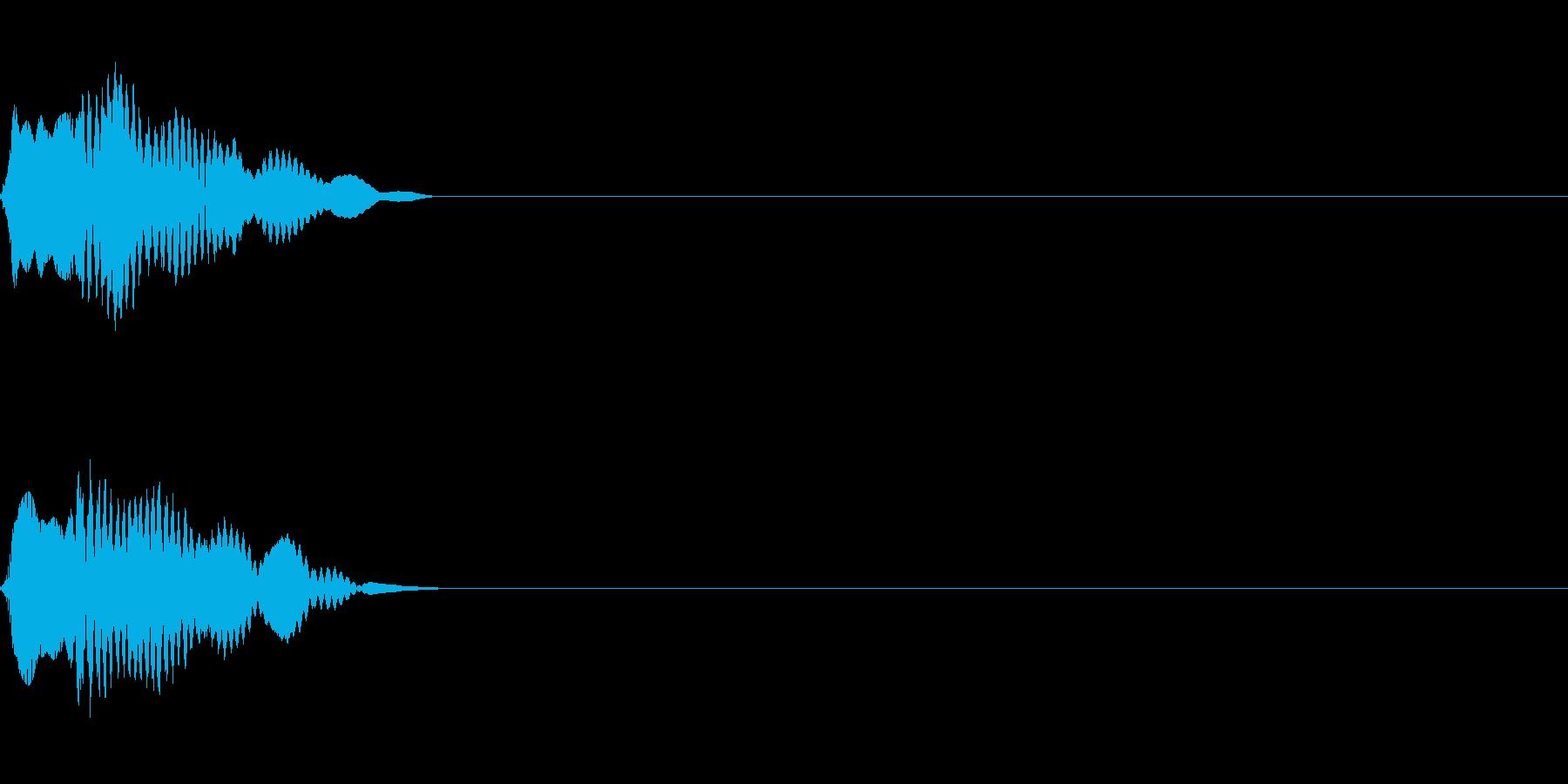 ピロン ゲーム/アプリ/起動音/スタートの再生済みの波形