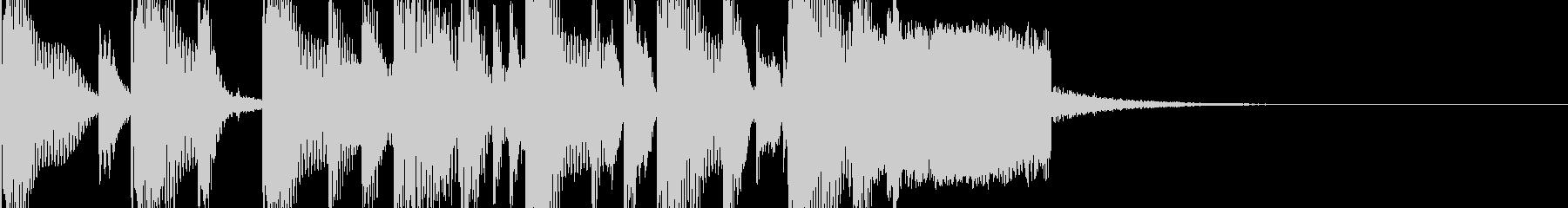 EDMなファンファーレ(ドラムのみ)の未再生の波形