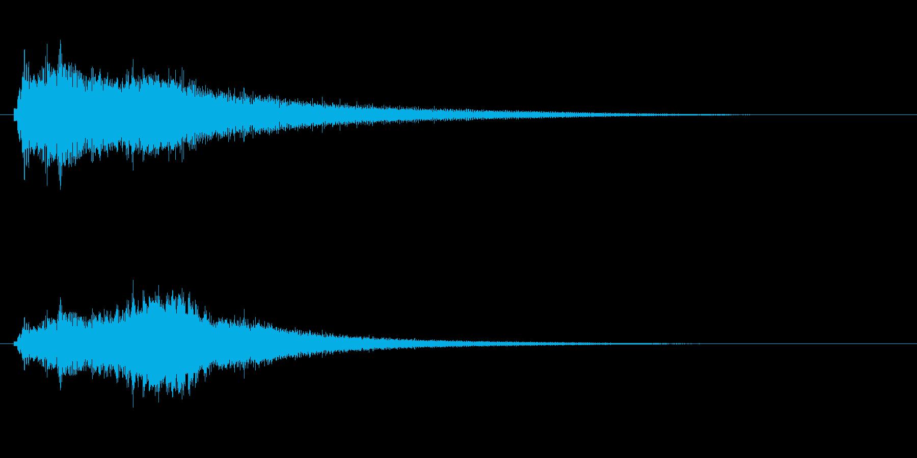 しゃらららららららーー ウィンドチャイ…の再生済みの波形