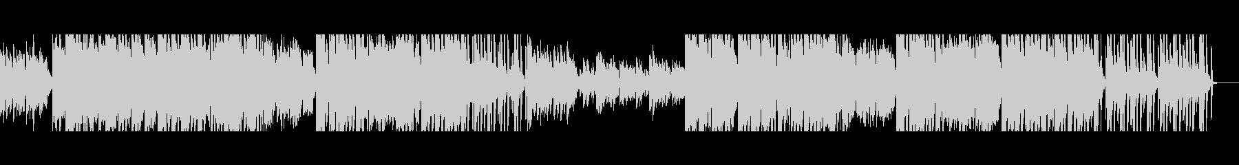 民話風テクノ 人工音声スキャット付きの未再生の波形