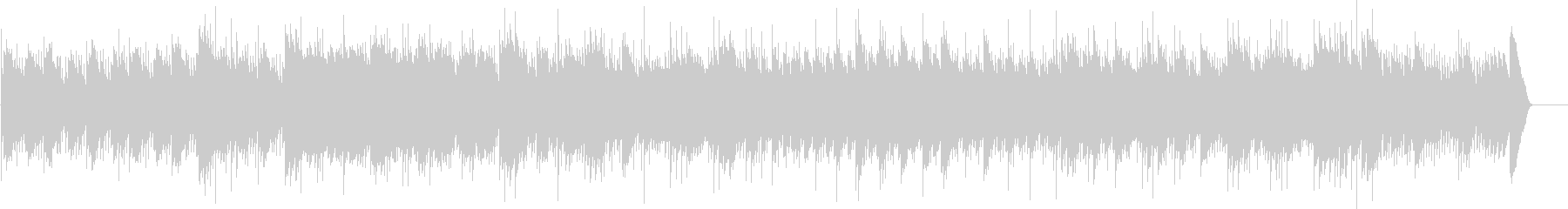 グノーのアヴェマリア(オルゴール)の未再生の波形