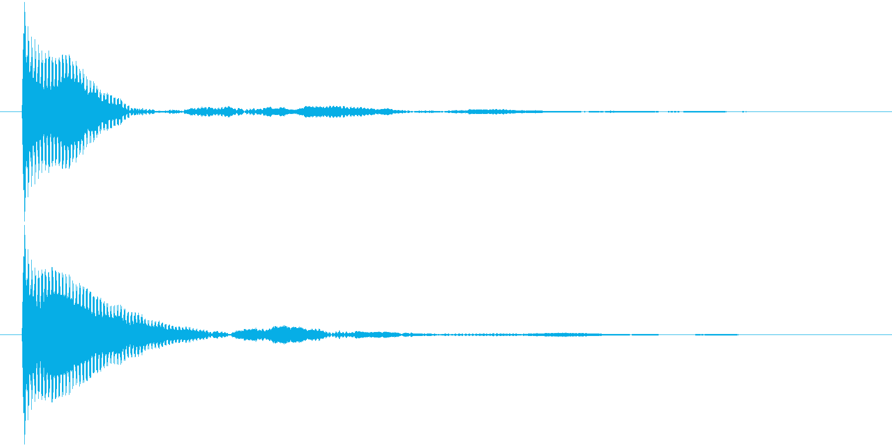 ポン カーソル音 タップ音 A-10_の再生済みの波形