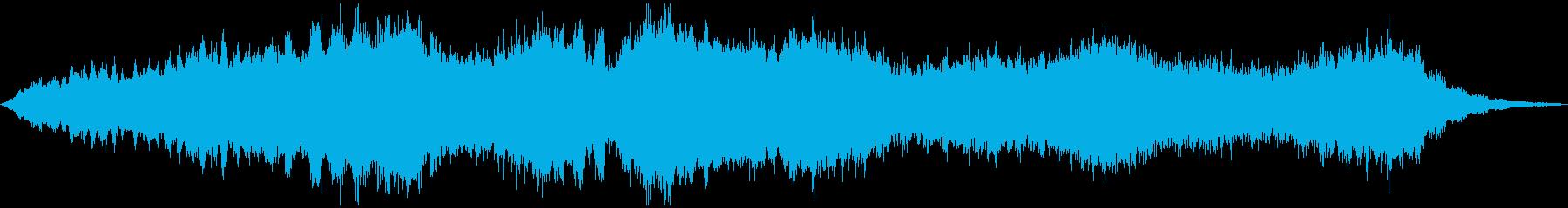 PADS 邪魔なホラー01の再生済みの波形