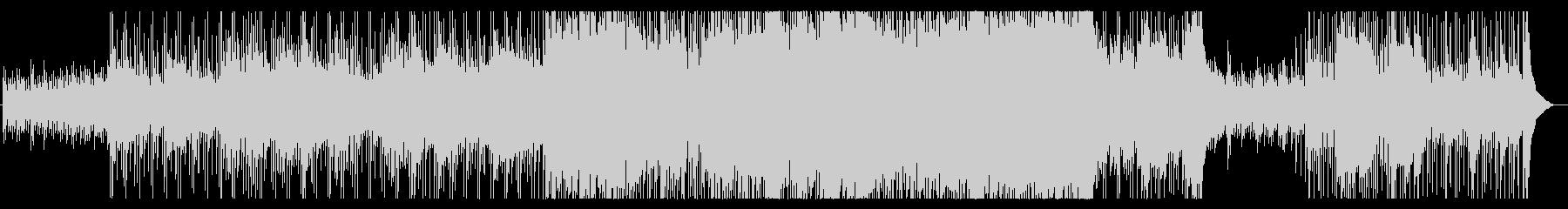 鎮魂曲 物悲しい曲調のロックバラードの未再生の波形